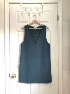 Aritzia Wilfred Blue Sleeveless Dress