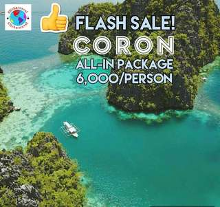 Coron all in package for 6000