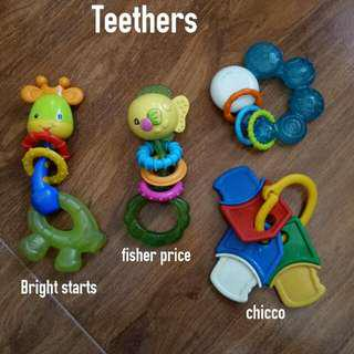 Teethers & Changing Diaper Pad