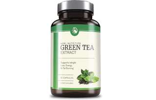 [IN-STOCK] Nobi Nutrition's Green Tea Extract Supplement with EGCG for Weight Loss - Metabolism Boost and Heart Health - Caffeine Boost & Energy Supplement - All Natural Antioxidant