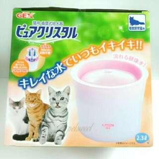🚚 GEX全貓狗用飲水器2.3L