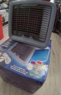 家用/戶外冷風機 辦公室水冷空調 (能作小夜燈及小空間加濕器)