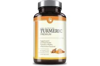 [IN-STOCK] Nobi Nutrition's Premium Turmeric Curcumin 1400mg with 95% Curcuminoids & BioPerine Black Pepper Superior Absorption - Enhanced With Spirulina, Natural Anti-Inflammatory, Cardiovascular, Joint Support