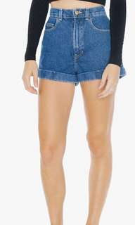 AA Denim High Waisted Shorts-New price