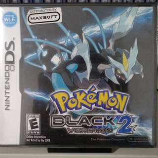 (New!) NDS - Pokemon Black: Version 2