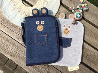 嬰兒健康手冊袋👶🏻護照袋👨🏻✈️母子手帳🤱🏻