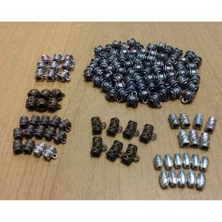 (Sepaket) Bronze & Silver Accessories Spacer Beads