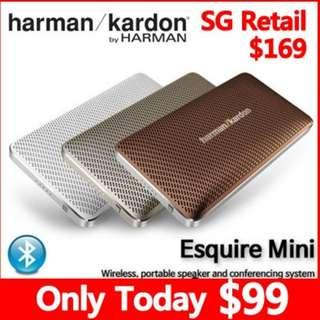 [Only Today $99] Harman Kardon Esquire Mini Ultra-Slim Portable Wireless Speaker
