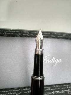 Indigo Pen From Germany (Free Engraving)