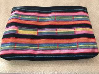 Colorful Woven Native Clutch Bag