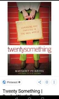 Twenty something book