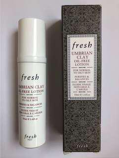 NEW Fresh Umbrian Clay oil-free lotion