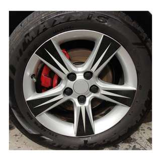 Silica Wheel Nut Covers