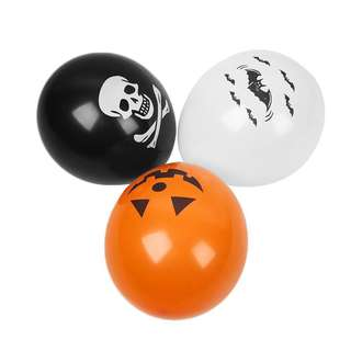 10pcs Halloween Theme Party Balloons