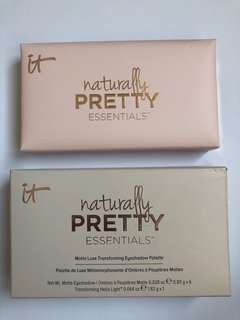 NEW IT Cosmetics Naturally Pretty Essentials Palette