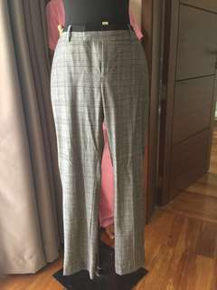 Banana Republic plaid pants
