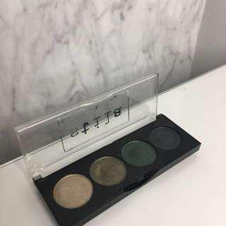 Stila eyeshadow palette (swatched only)