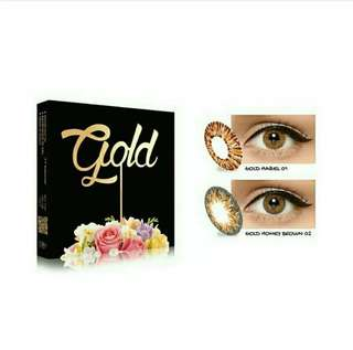 Softlens ice gold x2