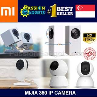 ★XIAOMI!★ Mijia 360 IP Camera 1080P Cam spycam CCTV Support IOS Android Wireless Control Webcam