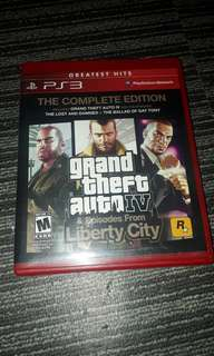 GTA 4 the complete edition (R1) PS3
