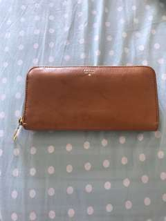 Fossil leather wallet (Free postage)
