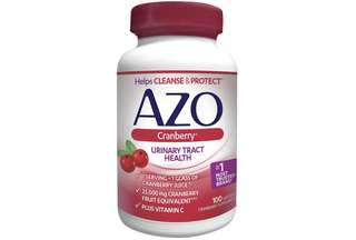 [IN-STOCK] AZO® Cranberry Urinary Tract Health Dietary Supplement | 1 Serving = 1 Glass of Cranberry Juice| Helps cleanse and protect the urinary tract | Fast Acting | 100 Softgels