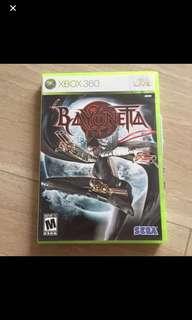🚚 Bayonetta Xbox 360