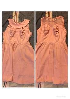 dazzlin 胸部縷空兩穿式洋裝