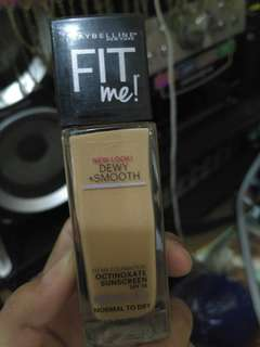 Maybelline fit me foundation 240