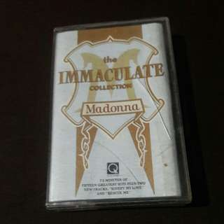 "Original Madonna ""The Immaculate Collection"" Tape"