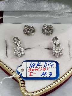 14k w/ titus earring's