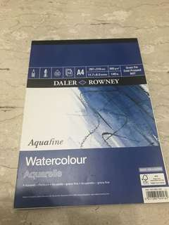 Daler Rowney Cold Pressed Watercolour Paper
