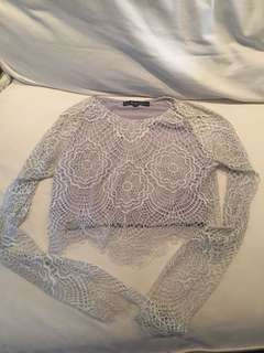 For love and lemons crop top sz M