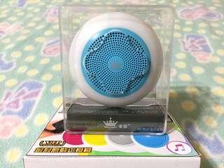 🚚 七彩光低音藍芽喇叭Colorful light bass speaker