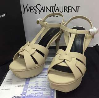 YSL tribute matte heels