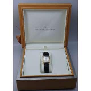 Girard Perregaux ~ Vintage 1945 18k Rose Gold + Original Diamond Beze Lady Watch w/Box