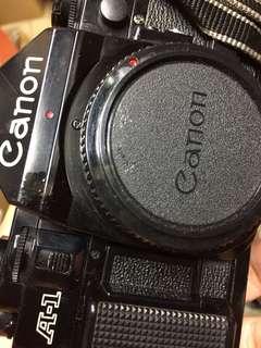 🚚 手動 底片 單眼相機 canon a1 a-1
