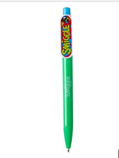 Smiggle ball pen character green rm7 NEW