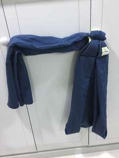 OFFER HANYA rm60 hengget ... SLING WRAP BABY blue black colour #july50