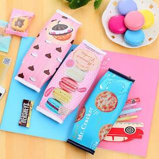 🚚 BRAND NEW SNACKS PENCIL CASE @ $4 PER PC OR $3 FOR 10 PCS AND ABOVE!!! READY STOCKS! LIMITED PCS LEFT!!!