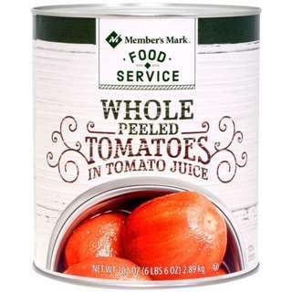 Member's Mark Whole Peeled Tomatoes 2.89kg
