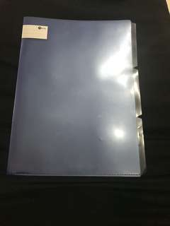Brand new file with dividers