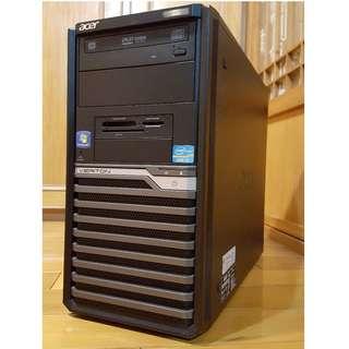 Acer大品牌電腦主機Intel i5-2320 /HDD 500GB頂級正四核心 非雙核 機殼 3C