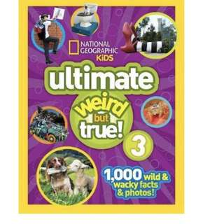 National geographic kids weird but true 3 hardcover Brand new