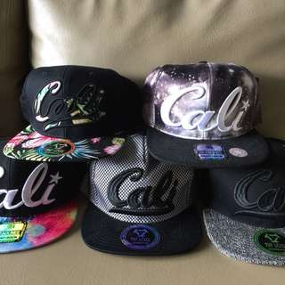 Cali snapback cap
