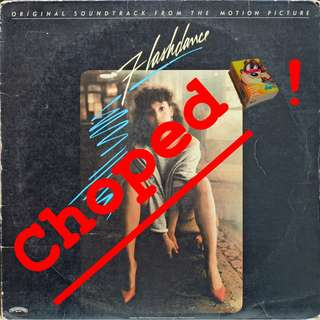 flashdance Vinyl LP used, 12-inch, may or may not have fine scratches, but playable. NO REFUND. Collect Bedok or The ADELPHI.