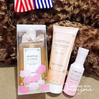 Anmyna Non Silicone Shampoo + Conditioner (Free Multi Essence)
