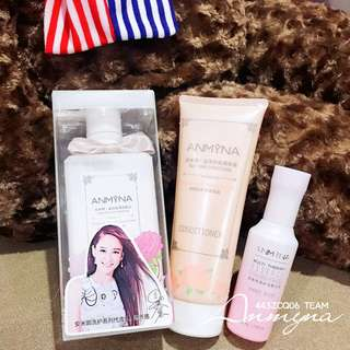 Anmyna Silky Shampoo + Conditioner (Free Multi Essence)