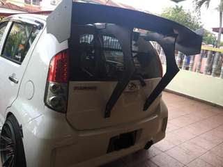 Myvi gt wing custom made