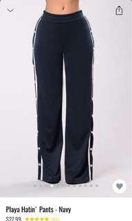 Playa Hatin pants ( Fashion Nova)